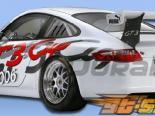 Задний бампер для Porsche 911 2005-2008 Cup Duraflex