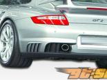 Решётка на глушитель GT-2 на Porsche 997 C4|C4S|Turbo 2006-2007