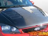 Пластиковый капот на Ford Focus 05-07 GT-Concept Стиль