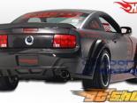 Спойлер на Ford Mustang 05-09 Hot Литые диски Fiber