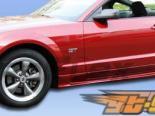 Накладки на двери на Ford Mustang 2005-2009 Colt Уретан