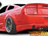 Задняя губа для Ford Mustang 05-09 Demon Полиуретан