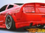 Пороги для Ford Mustang 05-11 Demon Полиуретан