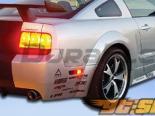 Накладки на двери для Ford Mustang 05-09 GT500 Duraflex