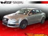 Пороги для Audi A4 2006-2008 RS4