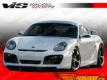 Передний бампер для Porsche Cayman 2006-2009 A Tech GT