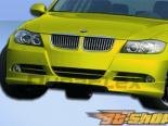Губа на передний бампер для BMW E90 06-08 HR-S Duraflex