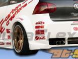 Задний бампер Hot Литые диски на Volkswagen GTI|Rabbit 2007-2008