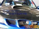 Карбоновый капот на Subaru Impreza 06-07 STI Стиль