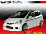 Обвес по кругу для Honda Fit 2007-2008 (JDM) Wings
