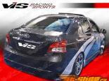 Задний бампер на Toyota Yaris 2007-2008 VIP
