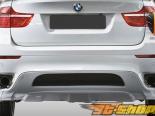 Накладки на задний бампер Eros Version 2 на BMW X6 E71 2008-2011