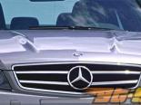 Пластиковый капот C63 Look на Mercedes C Class W204 2008-2011