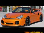 TechArt Splitter для GTS Type 2 передний  Спойлер Porsche 996 Turbo | GT2 01-05