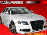 2009-2012 Audi A4 Седан R Tech Карбон Передняя губа