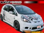 Обвес по кругу для Honda Fit 2009-2010 Techno R