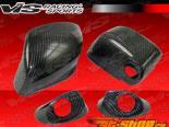 Карбоновые накладки на боковые зеркала на Nissan Skyline 2009-UP стандартный