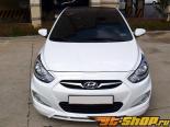 Аэродинамический обвес Sequence на Hyundai Solaris 2010+