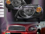 Передняя оптика на Chevrolet HHR 06-11 JDM Black Crystal DEPO