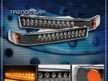 Диодные поворотники для Chevrolet Sonoma 94-04 Чёрный