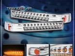 Диодные поворотники для Chevrolet Sonoma 94-04 CLEAR