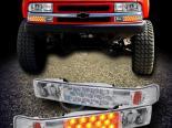 Диодные поворотники для Chevrolet Sonoma 94-04 Хром AMBER LED Стиль