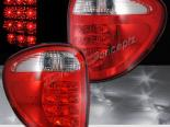 Задняя оптика для CHRYSLER TOWN & COUNTRY 04-07 RED