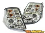 Передняя оптика для Citroen C2 02-05 Angel-Eye Projector Chrome