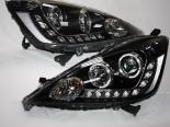 Передняя оптика на Honda Fit 08-12 Angel Eyes Projector