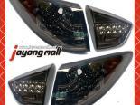 Задние фары для Hyundai Tucson 2010-2012 Black Smoke