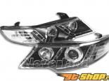 Передняя оптика на Kia Cerato 2008-2011 CCFL angel eyes Projector