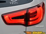 Задняя оптика для KIA Sportage 2010-2012 BMW F10 Style Specials Red