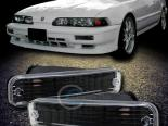 Поворотники для Acura Integra 90-93 JDM Чёрный CLEAR