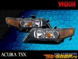 Передние фонари на Acura TSX 04-08