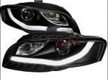 Передняя оптика для Audi A4 02-07 R8 STYLE PROJECTOR VER.2 BLACK