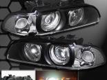 Передние фонари для BMW 5 Series E39 97-03 PROJECTOR Чёрный
