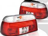 Задние фары для BMW 5 Series E39 97-03 Красный CLEAR