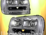 Передняя оптика для Chevrolet Trailblazer 02-09 Хром
