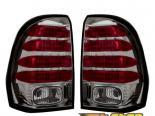 Задняя оптика на Chevrolet Trailblazer 02-09 Platinum Тёмный
