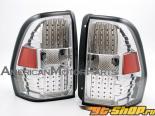 Задние фары для Chevrolet Trailblazer 02-09 Euro Стиль Хром