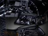 Передняя оптика на Ford Mustang 94-04 Тёмный