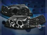 Передняя оптика для Ford Mustang 94-04 HALO PROJECTOR Тёмный