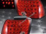 Задние фары на Ford Mustang 94-04 Красный CLEAR
