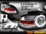 Задняя оптика на Ford Mustang 94-04 Euro Стиль Altezza Хром