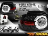 Задние фары для Ford Mustang 94-04 Euro Стиль Altezza Чёрный