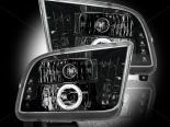 Передние фары для Ford Mustang 05-13 PROJECTOR Тёмный Чёрный