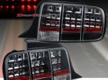 Задние фары на Ford Mustang 05-13 Чёрный