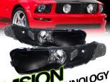 Поворотники для Ford Mustang 05-13 JDM Чёрный