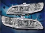 Передние фары на Honda Accord 98-02 JDM CHROME