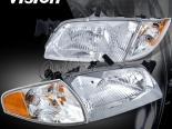 Передняя оптика для Mazda 626 98-01